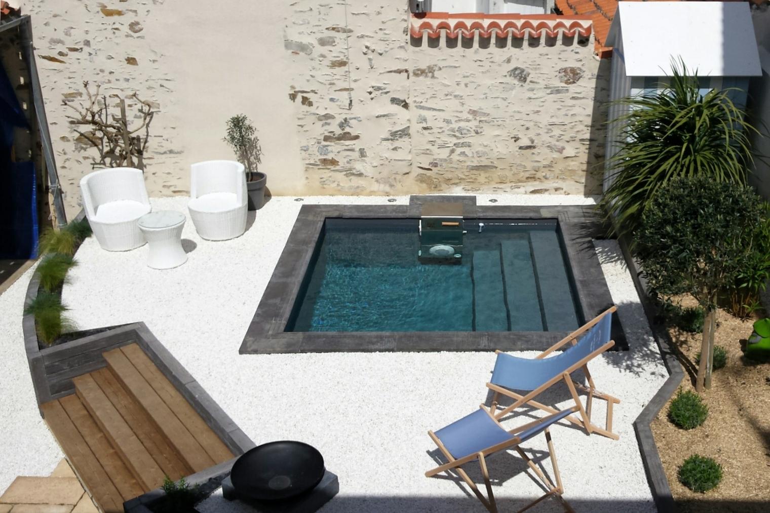 La bella casa - Mini piscine pour terrasse ...